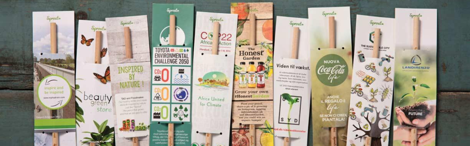 Regali Aziendali Green: Sprout, la matita che diventa una pianta