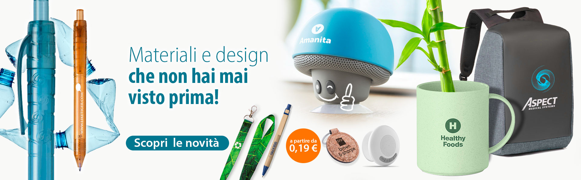 materiali e design innovativi
